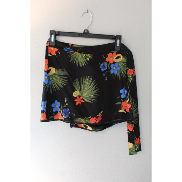 Out From Under Dresses & Skirts - Hawaiian Wrap Front Tie Skirt